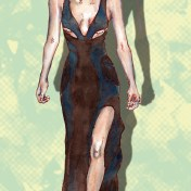 fashion illustration Versace