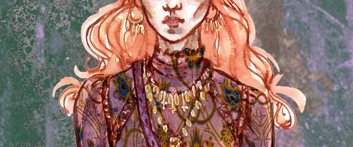 Fashion Illustration – Ispahan