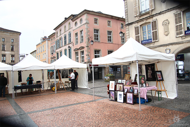 Place des Vosges Epinal