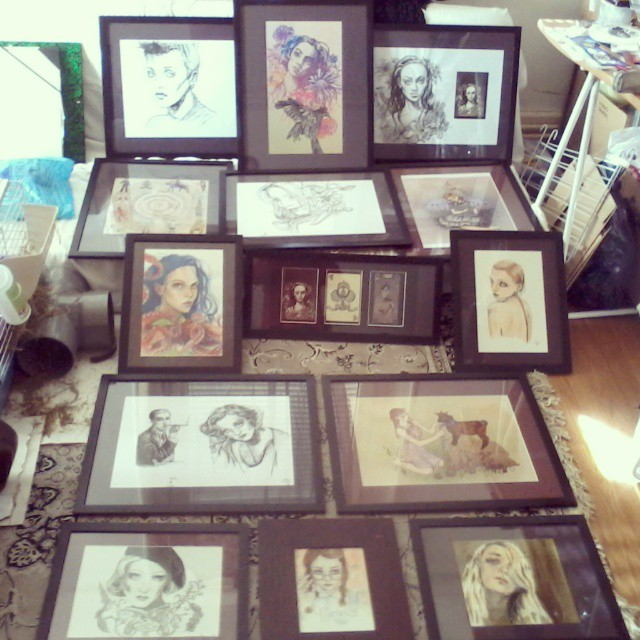 exposition dessins Holy Mane
