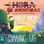 Mod de hora de aventura para Among Us portada de artículo