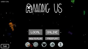 Pack de texturas de Minecraft para Among Us 1
