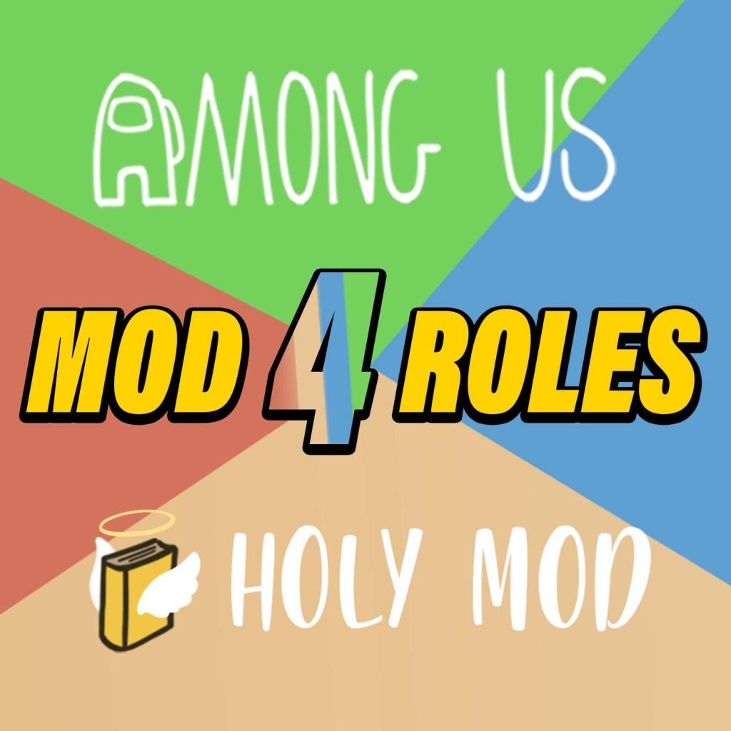 Mod 4 roles para Among Us portada de artículo