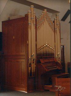 Holy Nativity Organ