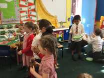 We have been learning lots of new songs....