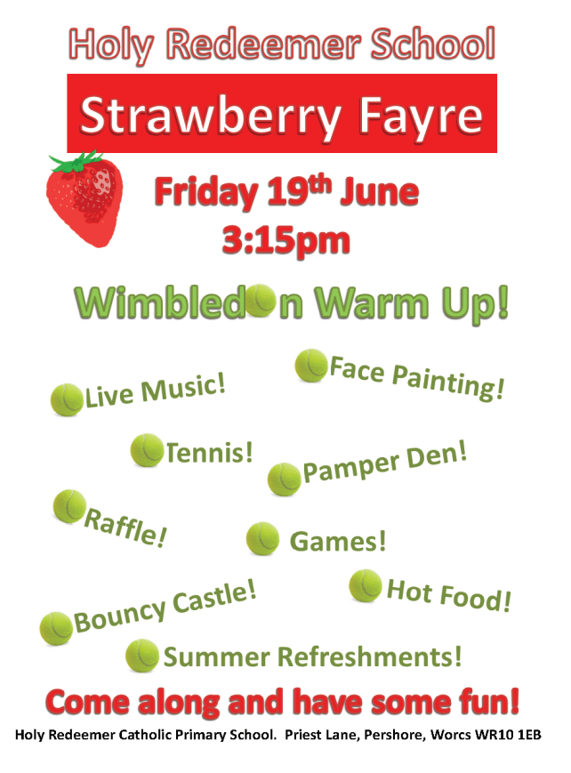 Strawberry Fayre Poster 2015