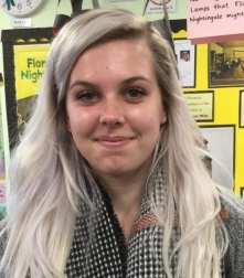 Miss Jodie Cox (Learning Support Assistant)