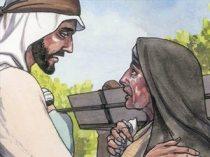 Jesus comforts widow