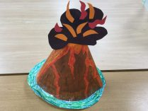 OliviaA volcano