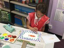 scarlett mosaic