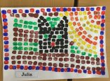 Julia mosaic