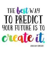 Predict to create