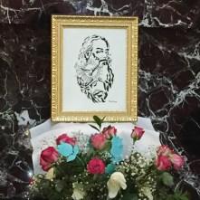 Romelia's art for the Trinity