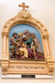 7th Station: Jesus falls the second time