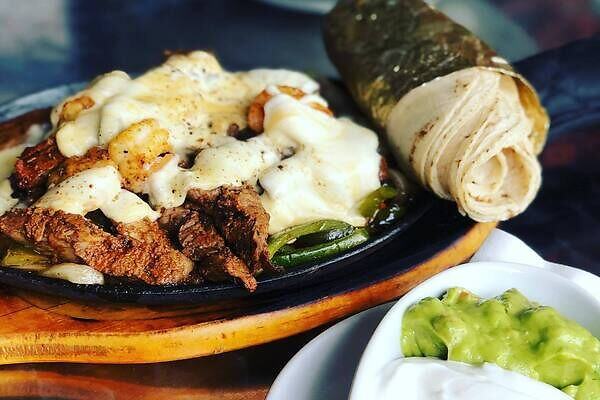 Mexican cowboys in Texas started eating fajitas while on the range