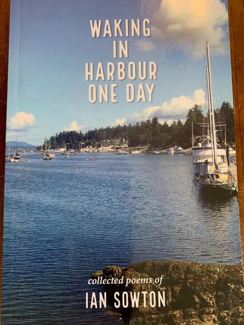 Cover photo: a sailboat anchored in a harbour on a sunny day.