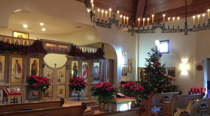 Schedule of services and events for December 18 – December 25