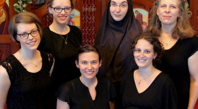 """St Vladimir's Seminary Chorale"""