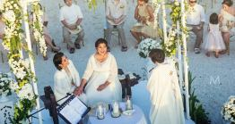 Lesbian wedding ceremony in Boracay, Philippines - Oly Ruiz / Metrophoto
