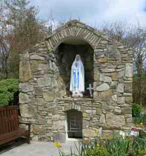 St Mary's Well, Tullylease, beautifully maintained