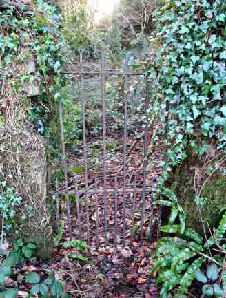 gate - the original entrance to the well?