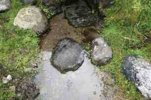 Kneeling stones?