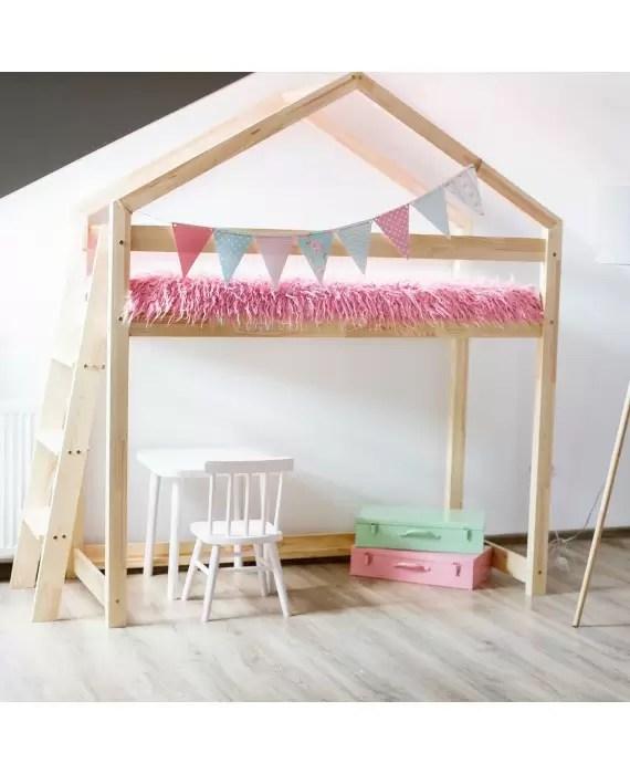 mon lit cabane enfant pas cher avec