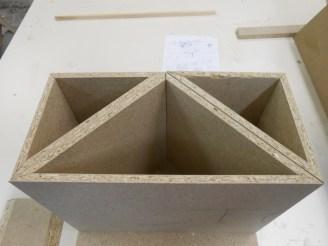 Roh-Spannplatte aus Holzfasern