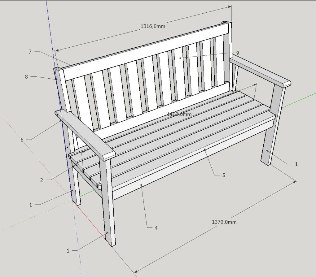 Gartenbank Selber Bauen Holzwerkerblog Com Holzwerken Als Hobby