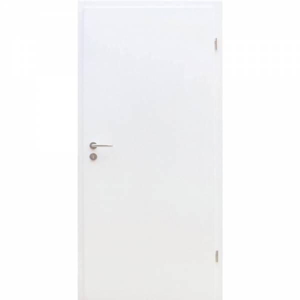 Tür, CPL-Weißlack, Rundkante, Röhrenspan, 198,5 cm