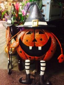 ハロウィンかぼちゃ魔女