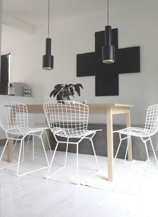 Bertoia Dining Chair Homage