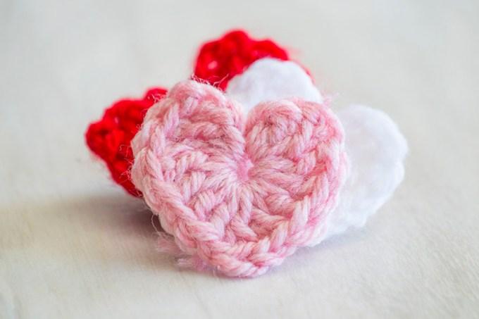 Perfect Crochet Hearts | Homan at Home