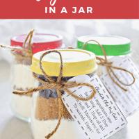 Mug Cakes in a Jar