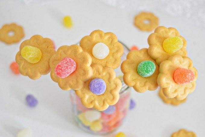 Gumdrop Cookie Flowers | Homan at Home