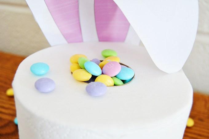 Toilet Paper Bunny Centerpiece | Homan at Home