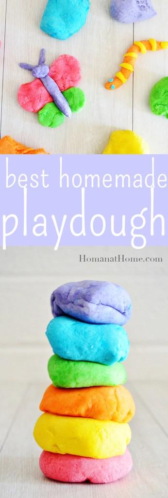 Best Homemade Playdough   Homan at Home