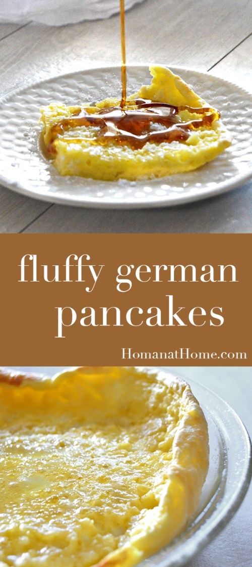 Fluffy German Pancakes | Homan at Home