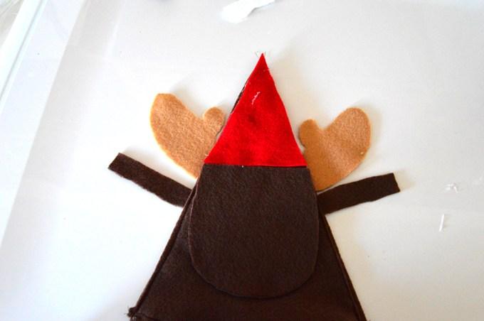 Reindeer Candy Holder   Homan at Home