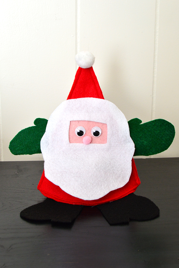 Santa Candy Holder   Homan at Home