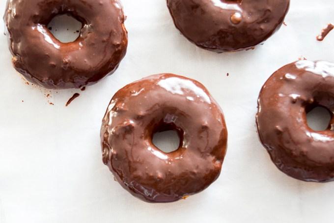 Banana Donuts with Chocolate Glaze   Homan at Home