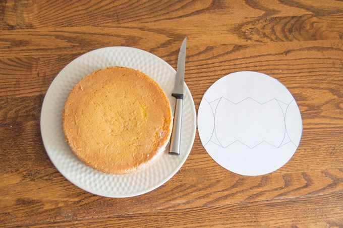 Chick Cut-Up Cake | Homan at Home