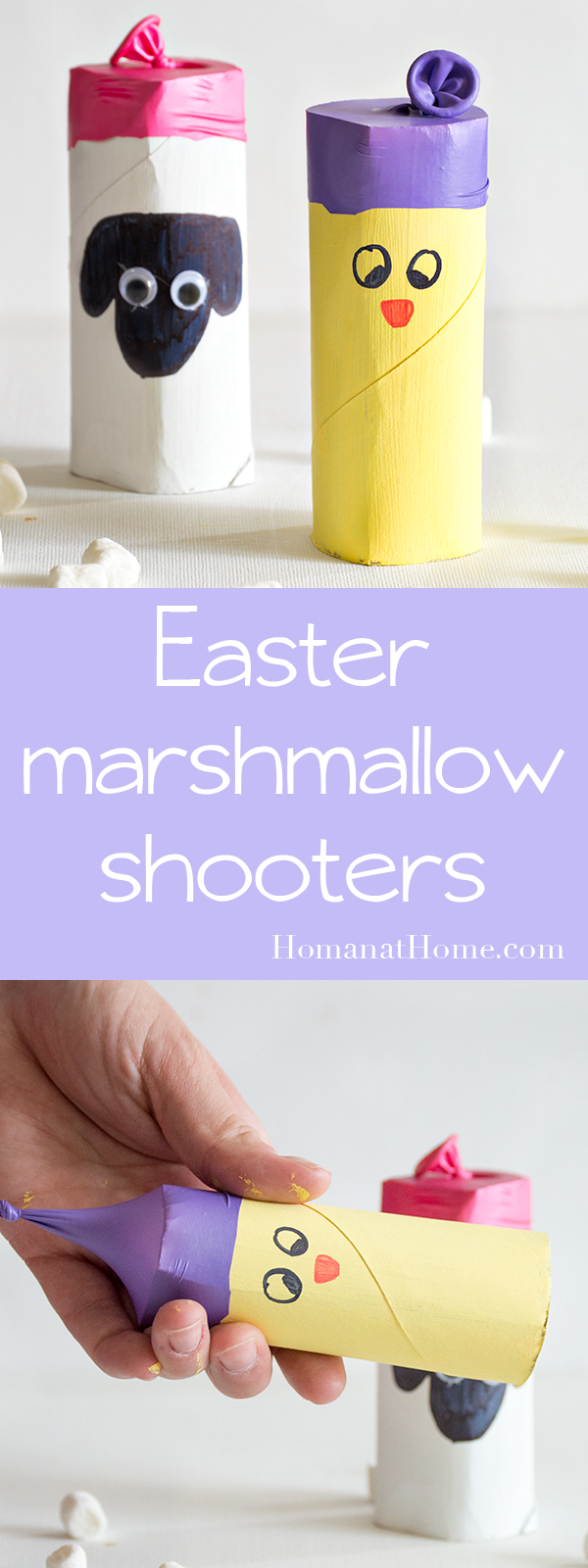 Easter Marshmallow Shooters   Homan at Home