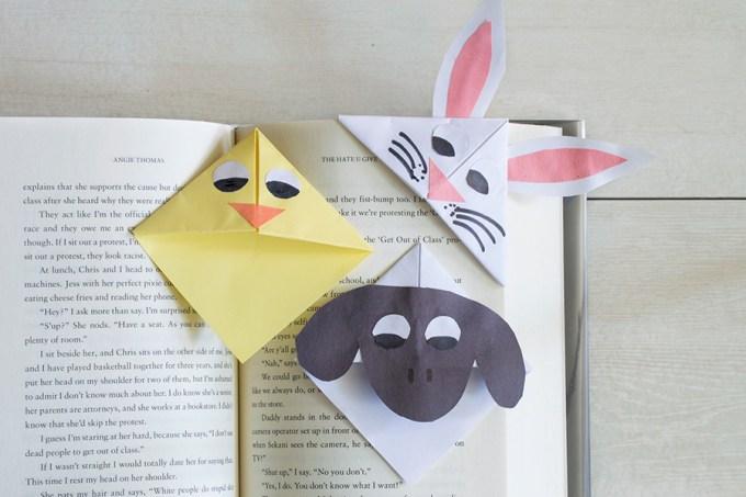 Easter Corner Bookmarks | Homan at Home