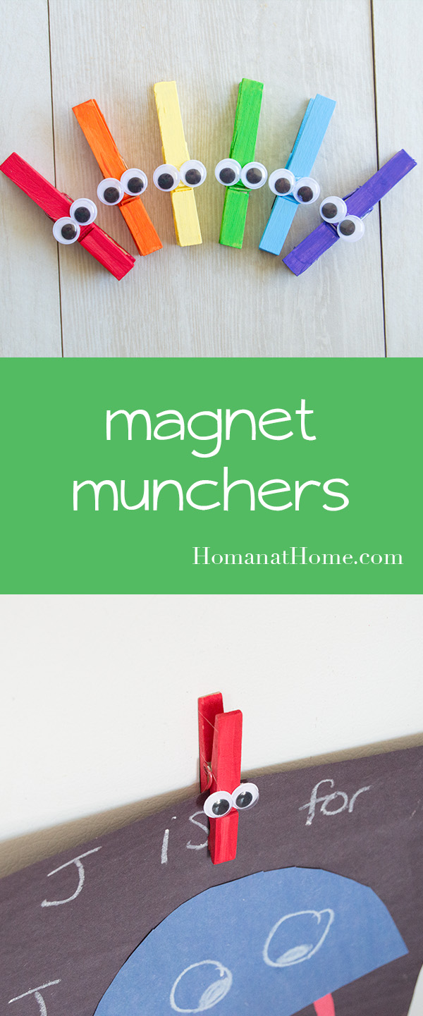 Munchin' Magnet Monsters | Homan at Home