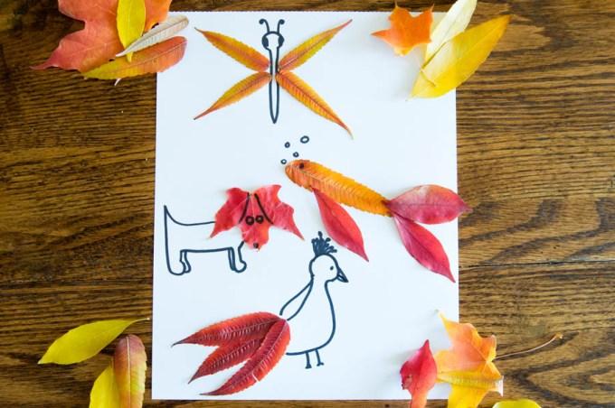 Leaf Art | Homan at Home