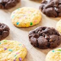 3 Ingredient Cake Mix Cookies