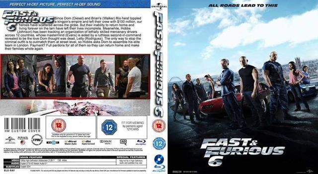 Hombre1 Com Win Your Very Own Fast Furious 6 Blu Ray Dvd
