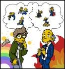 Burns y Smithers, por basil_ovelby