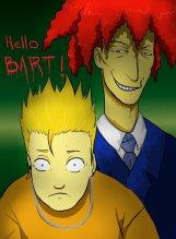 Bart y Bob, por dragon_master09